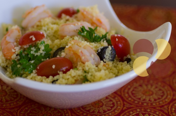shrimp and couscous L-1